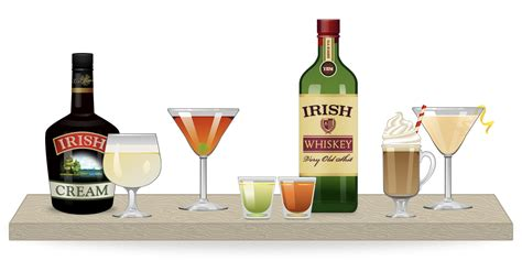 holiday cocktails png beyond green beer better st patrick s day cocktails