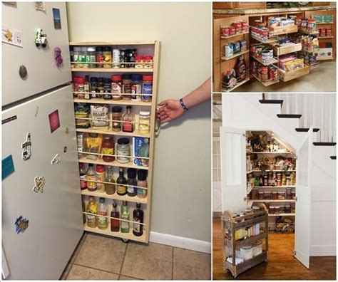 Small Space Living Ideas by 15 Practical Food Storage Ideas For Your Kitchen