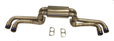 430 top gear f430 titanium cat back exhaust system top gear