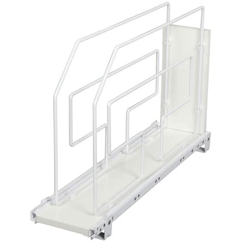 cabinet roll out trays knape vogt 19 5 in x 6 in x 22 in roll out tray