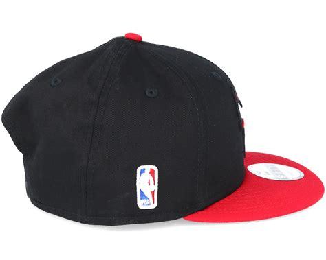 bull new era chicago bulls mlb league essential black 9fifty snapback