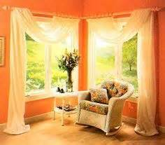 Ideas To Decorate Windows For by 1000 Ideas About Corner Window Treatments On