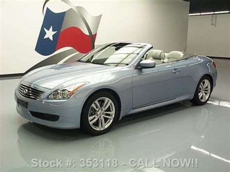 Infinity Auto Roadside Assistance Number by Purchase Used 2010 Infiniti G37 Convertible Auto Nav Rear
