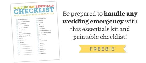 Wedding Checklist Essentials by Free Wedding Photography Essentials Checklist