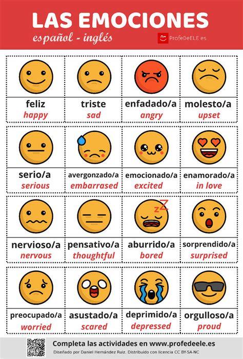 imagenes emociones infograf 237 a de las emociones y actividades online juego de