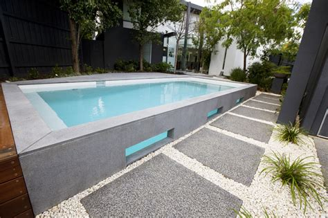 modern pools bombay bluestone modern pool melbourne by minke pools