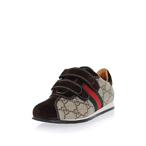gucci sneakers for toddlers gucci boy leather sneakers spence outlet
