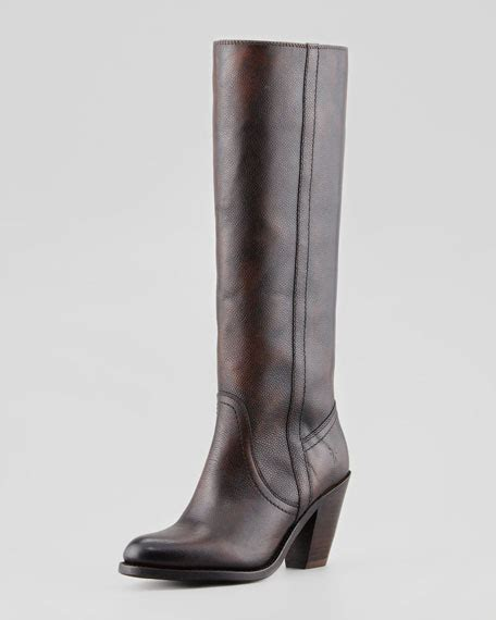 frye mustang boots frye mustang pull on boot brown
