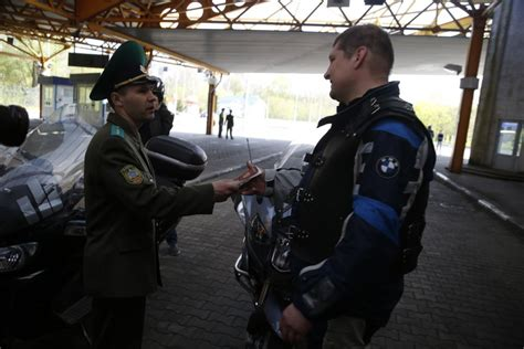 Background Check For Passport Poland Denies Entry To Russian Bikers The Times Of Israel