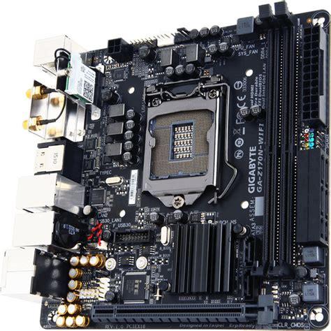 Motherboard Gigabyte Ga Hm110m A gigabyte ga z170n wifi motherboard rev 1 0 ga z170n wifi b h