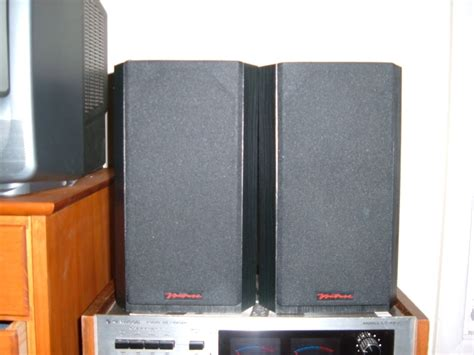 bic venturi v52 bookshelf speakers in black audio asylum