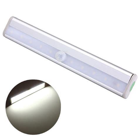 Motion Detector Closet Light by Wireless Pir Motion Sensor 10 Led Cabinet Wardrobe