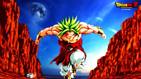 wallpaper dragon ball broly broly wallpaper and background 1600x900 id 680798