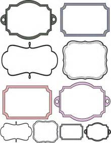 free printable picture frame templates 25 best ideas about printable frames on free