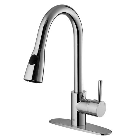 vigo chrome pull out spray kitchen faucet with soap vigo single handle pull out sprayer kitchen faucet with