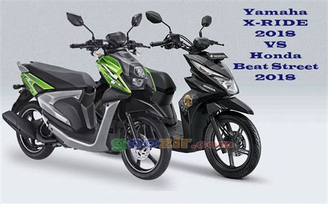 Lu Led Motor X Ride honda beat vs yamaha x ride 2018 informasi
