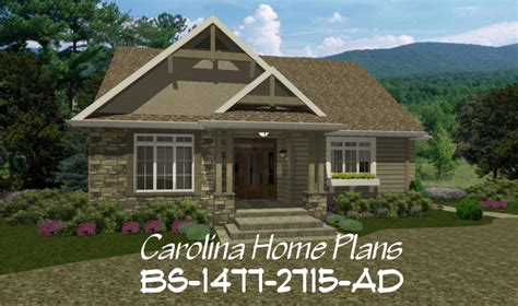 expandable house plans expandable craftsman house plan bs 1477 2715 ad sq ft build in stages house plan