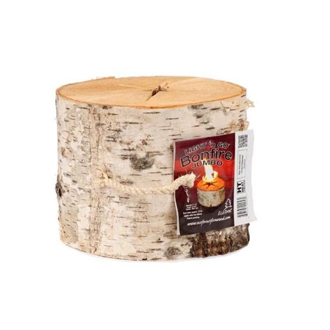 light n go bonfire jumbo log 506460 the home depot