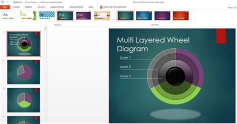theme powerpoint free download 2013 c 243 mo usar los temas de powerpoint web apps plantillas