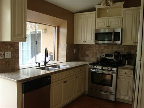 antique white cabinets black granite best of kitchens with