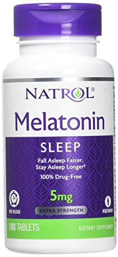Natrol Melatonin Tr 5 Mg 100 Caps
