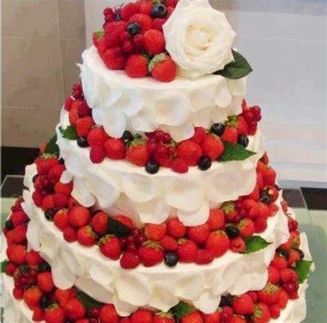 Hochzeitstorte Erdbeer by Strawberry Wedding Cake Cake