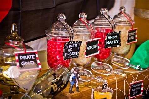theme buffet names kara s party ideas pirate themed 5th birthday party kara