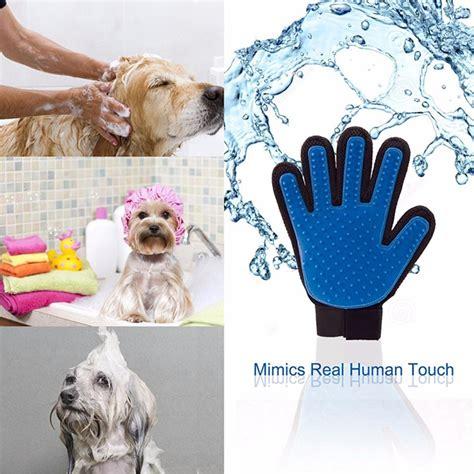 Sarung Tangan Pijat Grooming Anjing sarung tangan pijat grooming anjing blue jakartanotebook