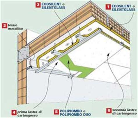 controsoffitto in cartongesso scheda tecnica isolamento acustico di pavimenti e pareti in costruzioni