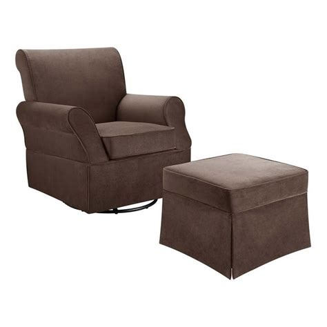 baby ottoman baby relax kelcie swivel glider and ottoman in comet