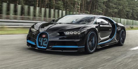 new bugati the 3 million bugatti chiron set a new speed record