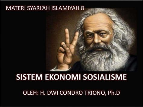 Erlina Syari materi syariah sistem ekonomi sosialisme sistem ekonomi
