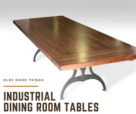 industrial dining room table industrial style dining room tables