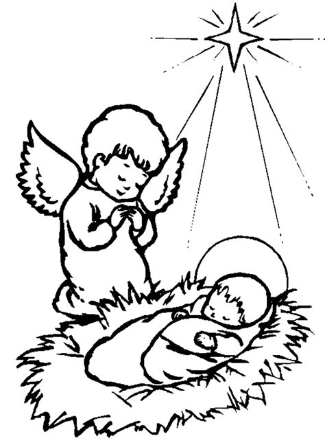 coloring page christmas bibel coloring pages 5