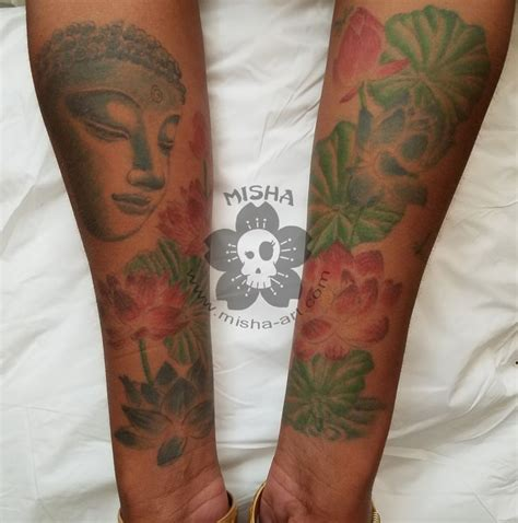 watercolor tattoos on dark skin 11 best misha s tattoos skin tattoos images on