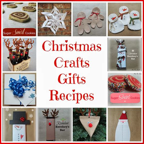 christmas crafts and recipes crafts gifts recipes