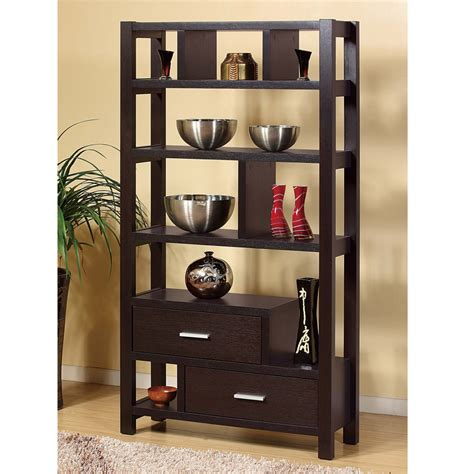 contemporary living room accent display stand cabinet bookcase open shelves wood ebay contemporary living room accent bookcase display rack