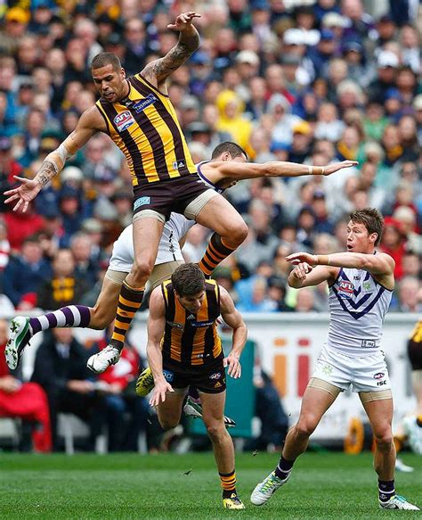 On The Afl by Top The Best Photos From The Hawks V Dockers Grand