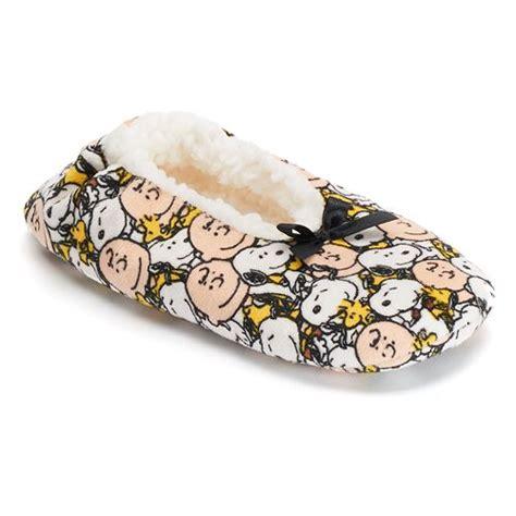 snoopy slippers plush peanuts soft plush slippers snoopn4pnuts