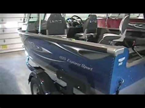 lund boats vs smokercraft lund 1700 explorer ss 115hp merc four stroke running wi
