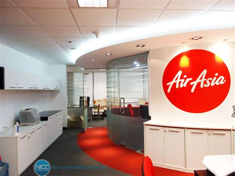 airasia sales office bandung air asia office nice construction interior