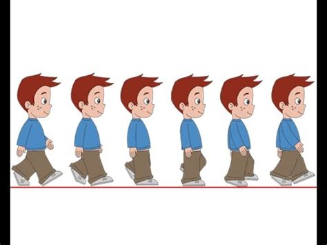 tutorial flash walk cycle flash animation tutorial character walk cycle part 2