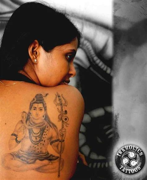 back shoulder lord shiva tattoo design tattoos book 65