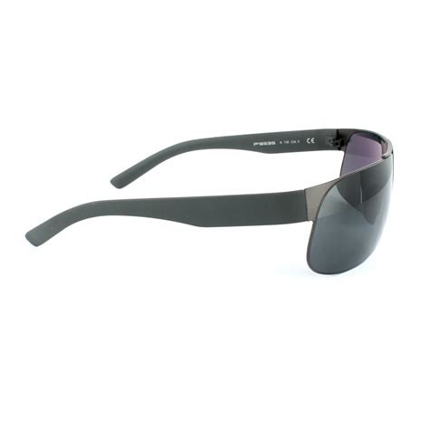 Porsche Sunglasses by Porsche Design Sunglasses P8535 A Black Grey Ebay