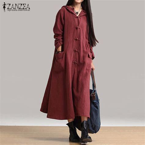 Autumn Casual Dress 25 aliexpress buy zanzea vintage dress 2017 autumn casual dresses