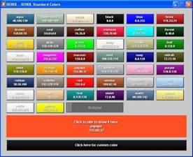 names that colors rebol color names