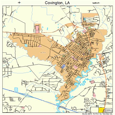 louisiana map covington covington la pictures posters news and on your