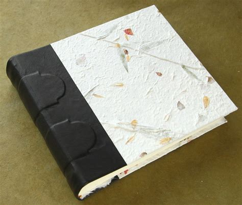 Handmade Booklet - badger and chirp handmade paper on handmade books is lovely