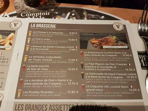 Comptoir Du Malte by Carte Picture Of Le Comptoir Du Malt Amand Les