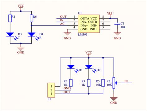 Ir Infrared Obstacle Avoidance Sensor Module Line Follower Arduino infrared ir obstacle avoidance sensor module adjust